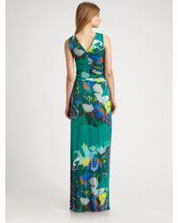 Etro - Green Maxi Dress - Lyst