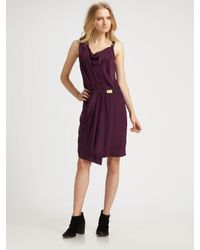 Rag & Bone | Purple Eugenia Dress | Lyst