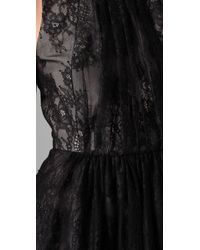Tibi | Black Imperial Lace Dress | Lyst