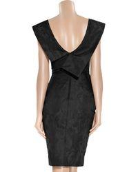 Vivienne Westwood Red Label Black Taffeta-jacquard Dress
