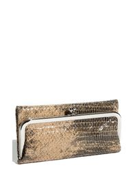 Hobo | Metallic Daria Convertible Envelope Bag | Lyst
