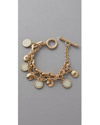 Marc By Marc Jacobs | Metallic Classic Marc Charm Bracelet | Lyst