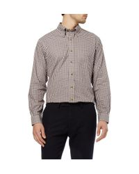Brooks Brothers | Red Gingham Cotton Shirt for Men | Lyst
