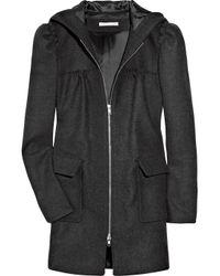 Paul & Joe Gray Honore Wool-blend Coat