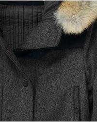 Rag & Bone - Gray Belfast Coat - Lyst
