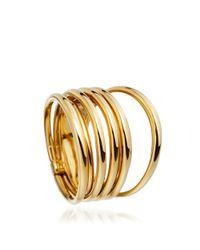 Shaun Leane Yellow Golden Coil Ring