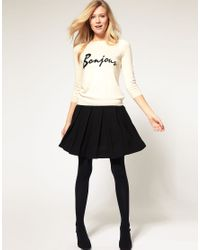 ASOS Collection - Black Asos Bonjour Jumper - Lyst