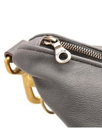 Jas MB Gray Wings Large Leather Traveller Bag