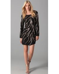 Sheri Bodell | Black Casino Cocktail Dress | Lyst