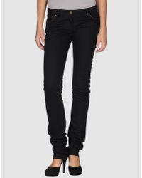 Fendi | Black Denim Pants | Lyst