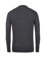 AllSaints | Gray York Grandad for Men | Lyst