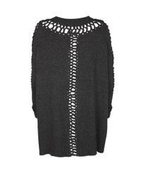 AllSaints - Black Laurentia Jumper Dress - Lyst