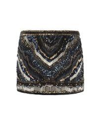 AllSaints - Black Erodes Skirt - Lyst