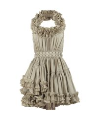 AllSaints | Gray Allegra Dress | Lyst