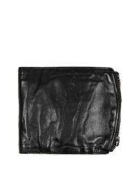 AllSaints - Black Track Wallet for Men - Lyst