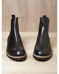 Dries Van Noten Black Dries Van Noten Mens Chelsea Boots for men