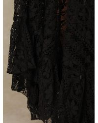 Free People - Black Directions in Lace Maxi Slip - Lyst