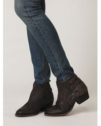 Free People | Black Seven Wonders Booties | Lyst