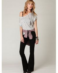 Free People | Black Fp Pull On Flare | Lyst