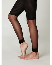 Free People | Black Show Pony Leggings | Lyst