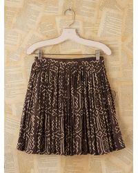 Free People | Brown Vintage Norma Kamali Skirt | Lyst
