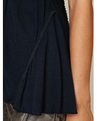 Free People - Blue Beauty Bar Cami - Lyst