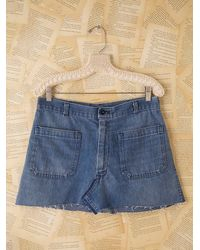 Free People | Blue Modern Femme Skirt | Lyst