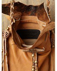 Free People | Brown Lakota Bead Bag | Lyst