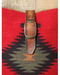 Free People - Red Palmedo Blanket Bag - Lyst