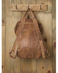 Free People | Brown Belmont Backpack | Lyst