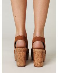 Free People - Brown Joni X Platform - Lyst