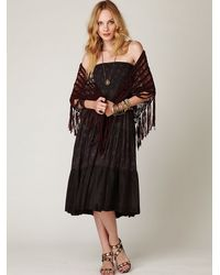 Free People - Black Ziller Park Convertible Maxi - Lyst