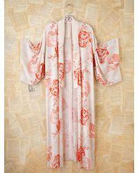 Free People | White Vintage Kimono | Lyst
