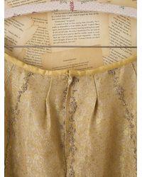 Free People | Red Vintage Beaded Indian Wedding Skirt | Lyst