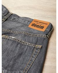 Junya Watanabe | Black Womens Distressed Patchwork Jeans | Lyst