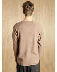 Nonnative Brown Nonnative Mens Rancher Sweater for men
