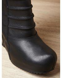 Rick Owens Black Short Ruhlmann Boot