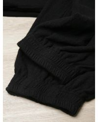 Unused Black Mens Wool And Mohair Blend Pants for men
