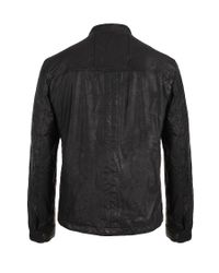 AllSaints Brown Archive Leather Jacket for men