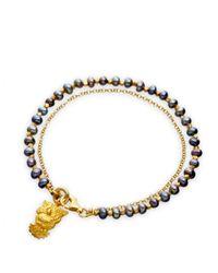 Astley Clarke | Blue Pearls Of Wisdom Bracelet | Lyst