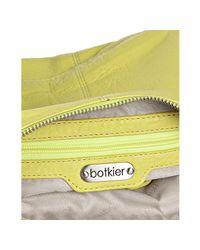Botkier - Yellow Key Lime Leather Helena Crossbody Bag - Lyst