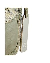Botkier - Green Sage Snake Leather Charlotte Crossbody Bag - Lyst