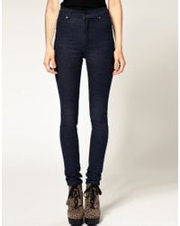 Cheap Monday | Blue Rinse Wash Tight Skinny Jean | Lyst