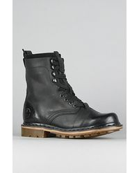 Dr. Martens | The Pier 9-tie Boot in Black for Men | Lyst