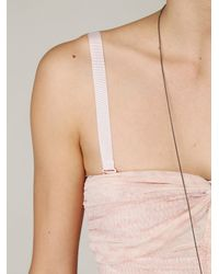 Free People | Pink Watercolor Tube Dress | Lyst