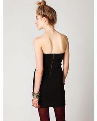 Free People - Black New Delhi Tube Dress - Lyst