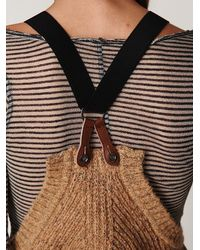 Free People - Natural Americana Sweater Jumper - Lyst