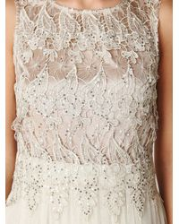 Free People | White Letoile Sequin Dress | Lyst