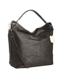 Furla | Brown Leather Zaffiro Convertible Hobo | Lyst