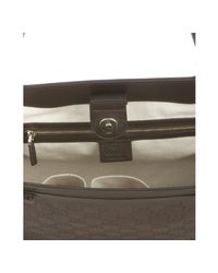 Gucci | Brown Chocolate Ssima Mayfair Medium Tote | Lyst